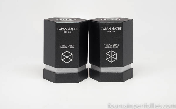 Caran d'Ache Chromatics inks