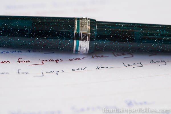Sailor Shooting Star of Jonuma fountain pen