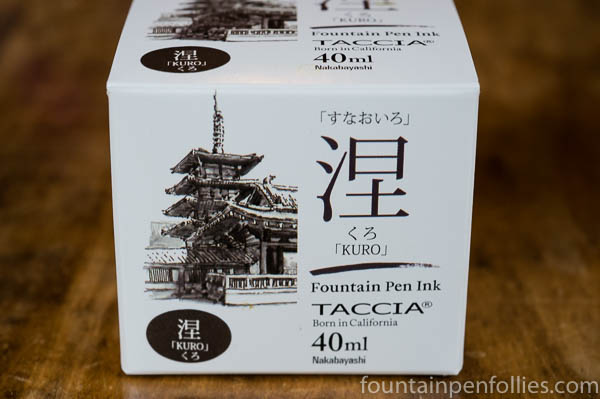 Taccia Kuro fountain pen ink