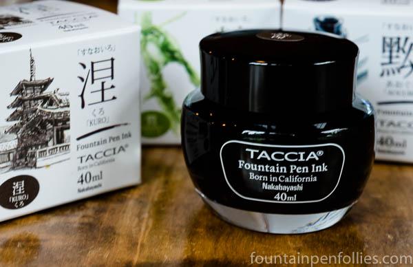 Taccia fountain pen ink