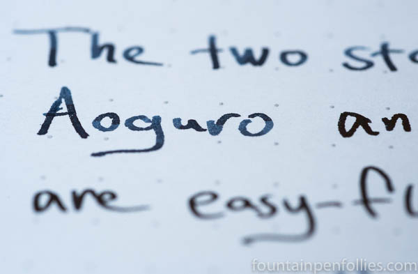 Taccia ink writing samples