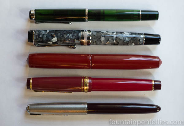 Nakaya Piccolo size comparison