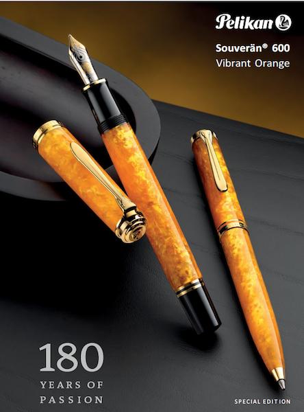 Pelikan M600 Vibrant Orange