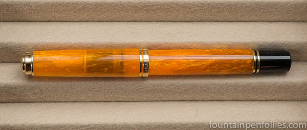 Pelikan M600 Vibrant Orange fountain pen