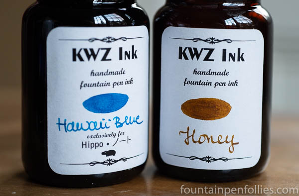 KWZ Hawaii Blue and KWZ Honey