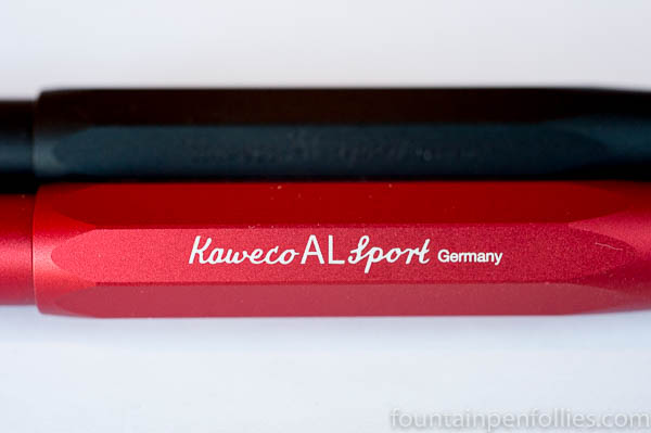 Kaweco AL-Sport red and night black