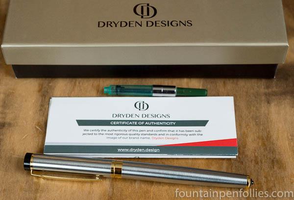 Dryden Designs Modern Classic Silver Metallic
