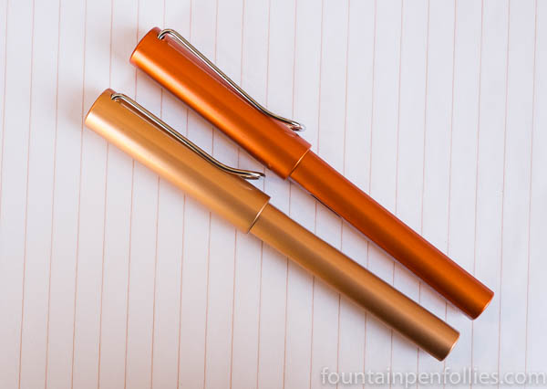 Lamy Al-Star Bronze and Copper Orange
