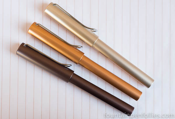 Lamy Al-Star Coffee Brown, Bronze and Pearl