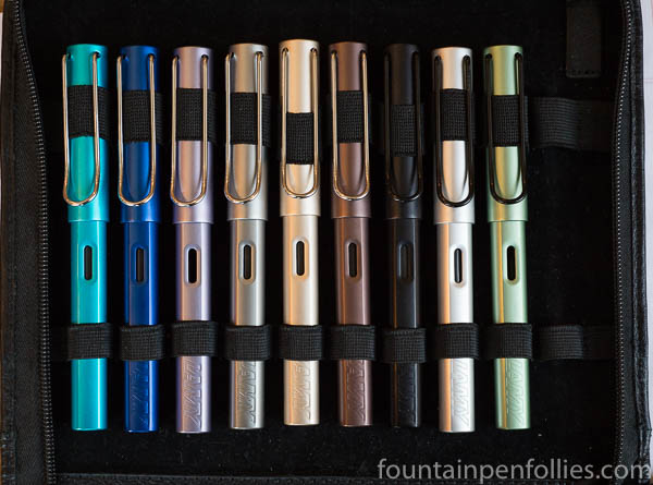 Lamy Al-Star fountain pens collection